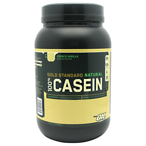 Optimum Nutrition Gold Standard Natural 100% Casein, 2 Pounds