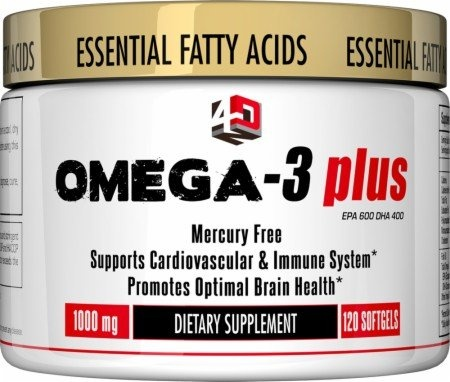 4 Dimension Nutrition Omega-3 Plus, 120 Servings