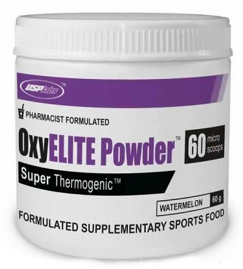 OxyELITE Pro Powder, 60 Servings, Fruit Punch Flavor 094922426369