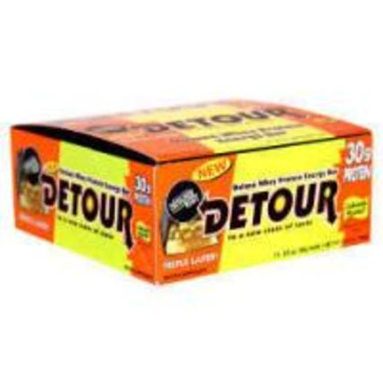 Forward Foods Detour Deluxe Whey Protein 85 g. per bar, 12 Bars
