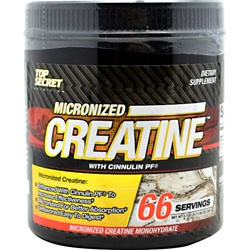 Top Secret Nutrition Micronized Creatine, 66 Servings
