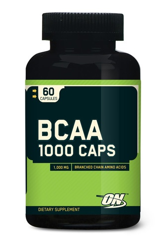 Optimum Nutrition BCAA 1000, 60 Capsules
