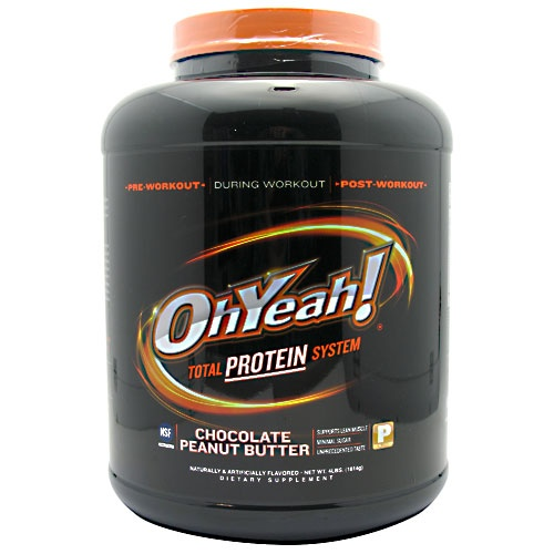 Oh Yeah! Protein Powder, 4 Pounds, Cookies & Cream Flavor 788434110556