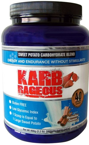 IP Pharma KARB RAGEOUS SWEET POTATO CARBOHYDRATE BLEND, 2.2 Pounds