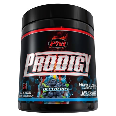Prodigy, 30 Servings, Blueberry Flavor 728028218756