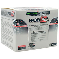 Nutriforce Sports WodPak Vitamins, 30 Packets