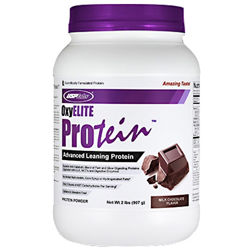 OxyElite Protein, 2 Pounds, Vanilla Ice Cream Flavor 094922426574