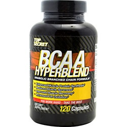 Top Secret Nutrition BCAA HyperBlend, 120 Capsules