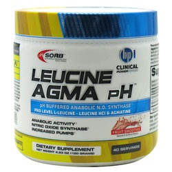 Leucine AGMA pH, 40 Servings, Fruit Smoothie Flavor 851780006573