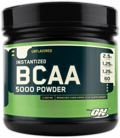 BCAA 5000 Powder, 336 Grams, Fruit Punch Flavor 748927025200