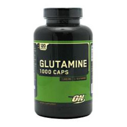 Optimum Nutrition Glutamine 1000 mg., 120 Capsules