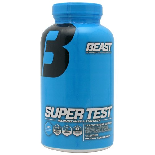Beast Sports Super Test, 180 Tablets