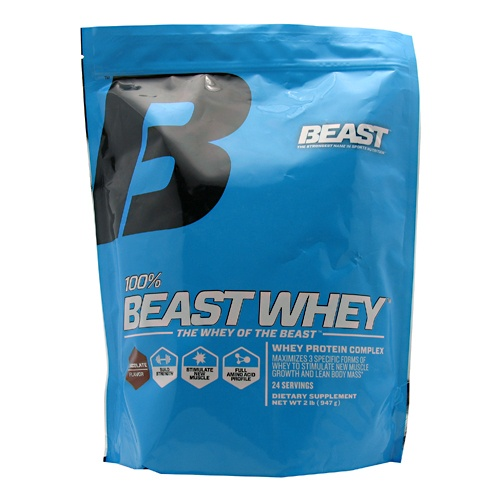 Beast Sports 100% Beast Whey, 2 Pounds