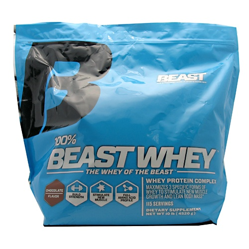 Beast Sports 100% Beast Whey, 10 Pounds