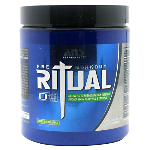 Ritual, 30 Servings, Icy Blue Freeze Flavor 799559491727