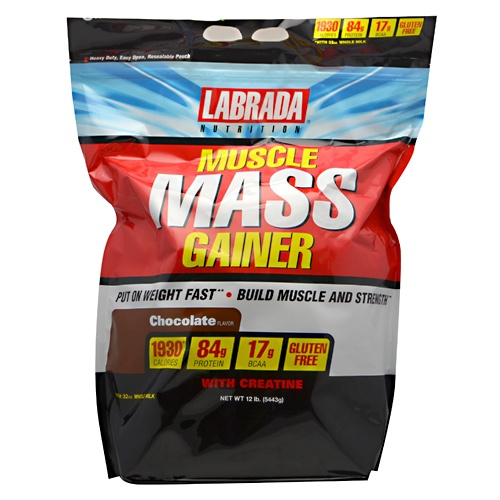 Muscle Mass Gainer, 12 Pounds, Vanilla Flavor 710779570016