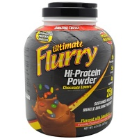 Ultimate Flurry Hi-Protein Powder, 5 Pounds, Strawberries & Creme Flavor 689570404816