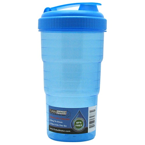 Turbo Shaker TurboShaker Bottle, Blue Flavor
