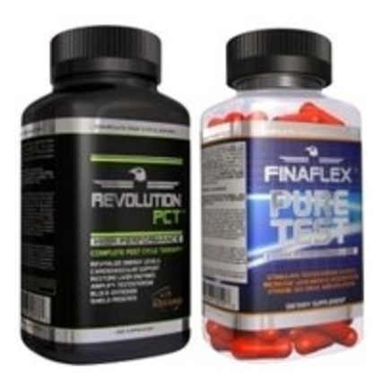 Finaflex Revolution PCT Black and Pure Test COMBO