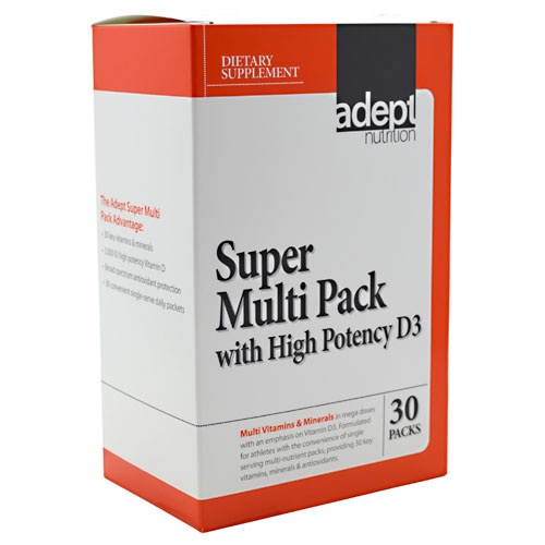 Super Multi Pack with High Potency D3