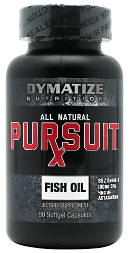 Pursuit Rx All Natural Fish Oil, 90 Softgels