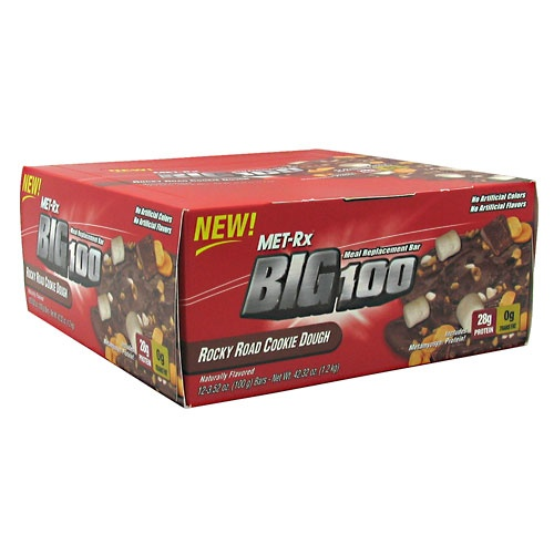 Met-Rx Big 100 Rocky Road Cookie Dough