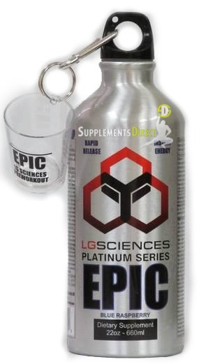 EPIC Liquid Pre-workout