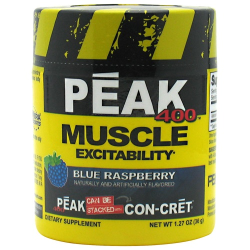Peak 400, 30 Servings, Blue Raspberry Flavor 682676732302