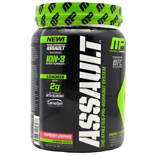 Muscle Pharm Hybrid Series Assault, 50 Servings