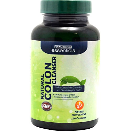 Betancourt Essentials Natural Colon Cleanser, 100 Tablets