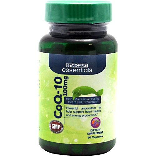 Betancourt Essentials CoQ-10, 90 Tablets