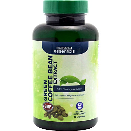 Betancourt Essentials Green Coffee Bean Extract, 90 Capsules