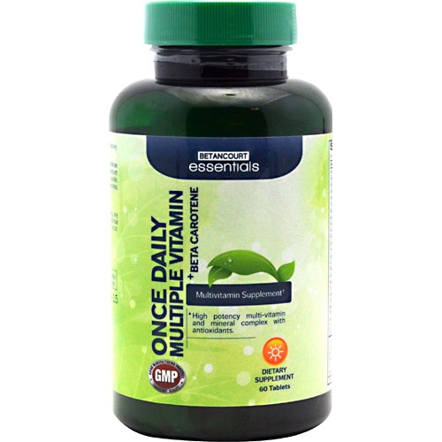 Betancourt Essentials Multiple Vitamin + Beta Carotene, 60 Tablets