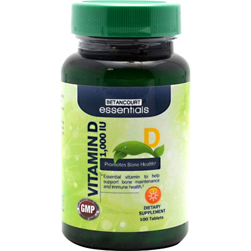 Betancourt Essentials Vitamin D 1,000 IU