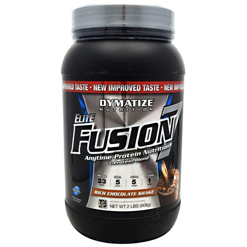 Elite Fusion 7, 2 Pounds, Rich Chocolate Shake Flavor 705016920266