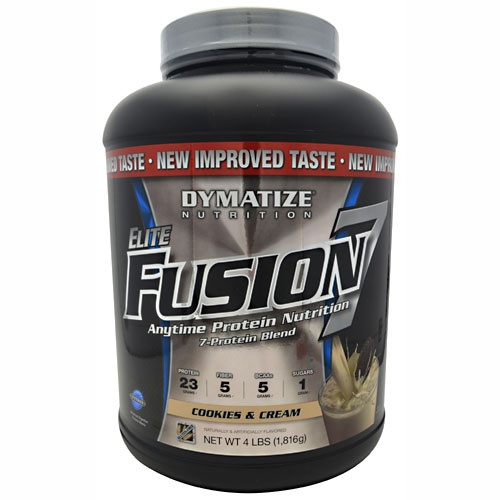 Elite Fusion 7, 4 Pounds, Rich Chocolate Shake Flavor 705016920426