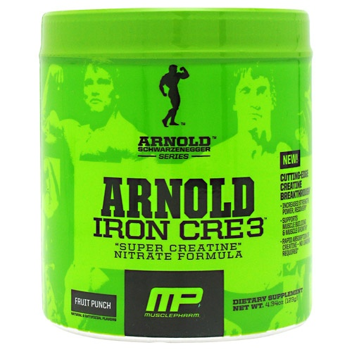 Arnold by Musclepharm Iron Cre3