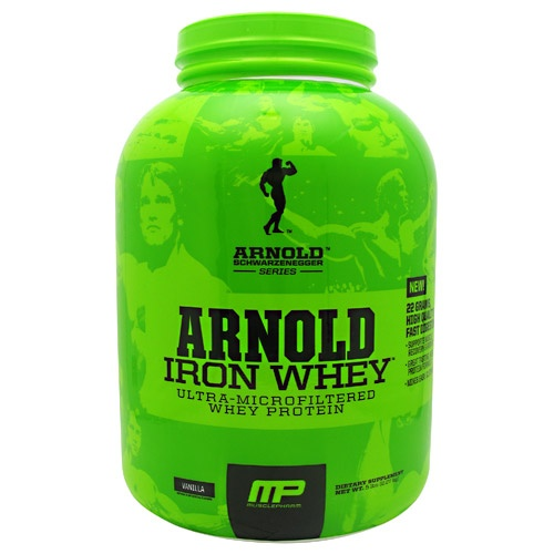 Arnold by Musclepharm Iron Whey, 5 Pounds