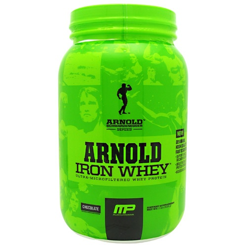 Arnold by Musclepharm Iron Whey, 2 Pounds