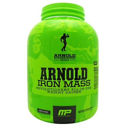 Arnold by Musclepharm Iron Mass, 5 Pounds