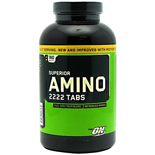 Optimum Nutrition Superior Amino 2222, 160 Tablets