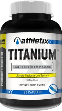 Athletix Nutrition Titanium, 90 Capsules