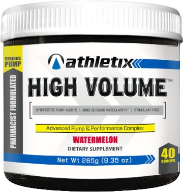 High Volume, 20 Servings, Watermelon Flavor