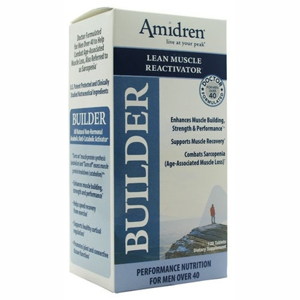 MHP Amidren Builder, 120 Tablets