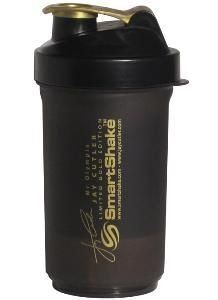 SmartShake Jay Cutler 27oz Dark Gray & Gold
