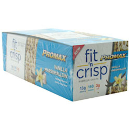 Promax Nutrition Fit 'N' Crisp Bar, 12 Bars