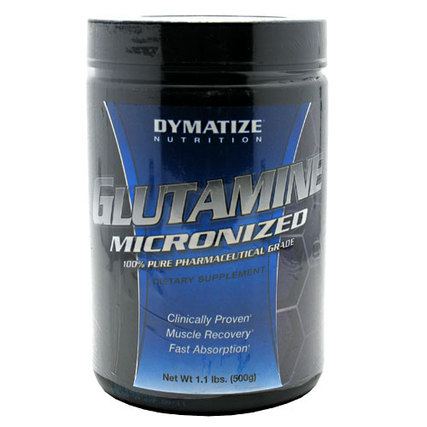 Dymatize Glutamine Micronized, 500 Grams