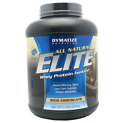 Dymatize All Natural Elite Whey, 5 Pounds