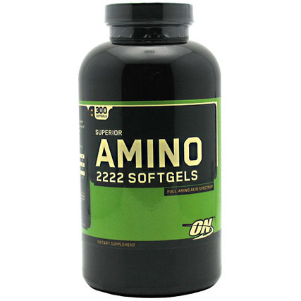 Optimum Nutrition Superior Amino 2222, 300 Capsules