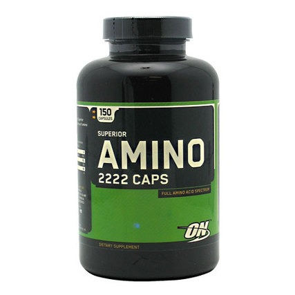 Optimum Nutrition Superior Amino 2222, 150 Capsules